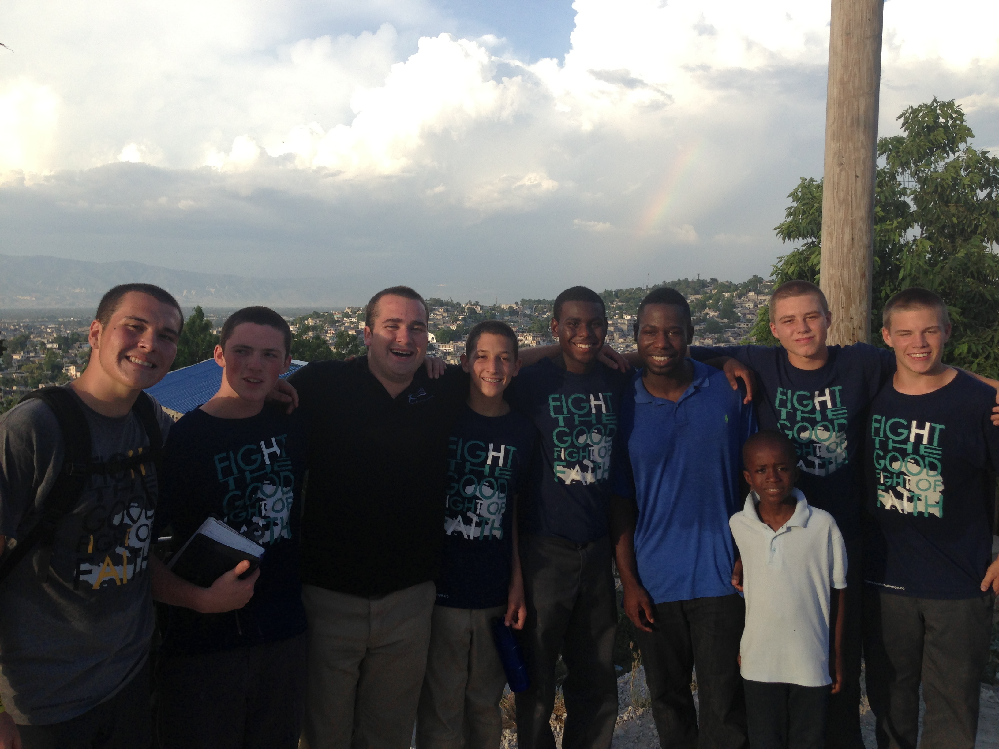 Emerging LEaders Program students in haiti