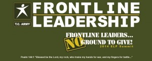 banner type Frontline Leadership