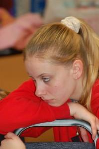 Girl sad